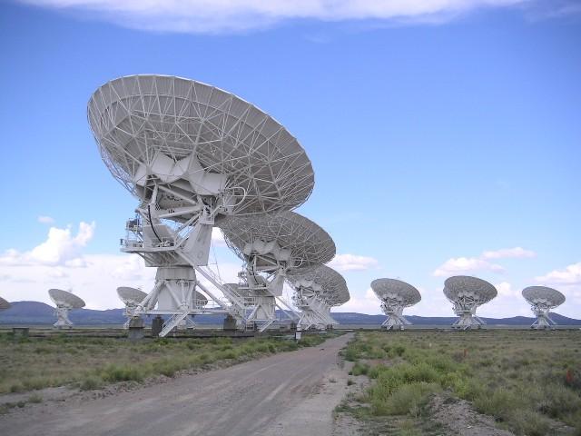 Един от големите радиотелескопи в света.