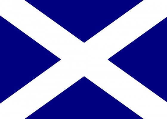 Знамето на Шотландия